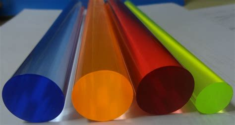 Acrylic Rod lucite transparent color acrylic rod 2mm for mutiple uses
