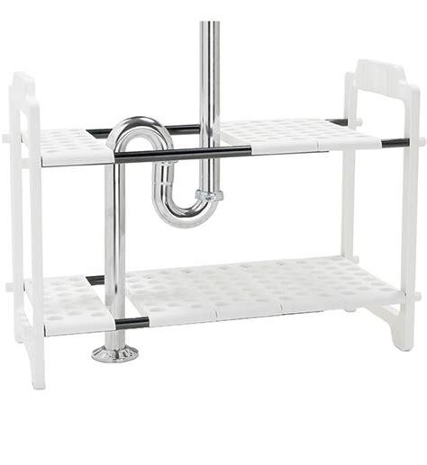 Sink Storage Shelf by Expandable Sink Storage Shelves