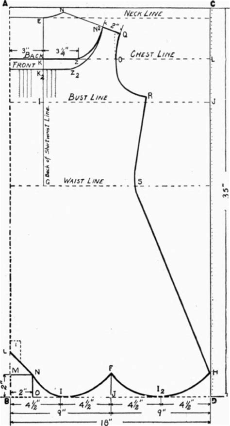 the pattern envelope back chapter xvii envelope chemise