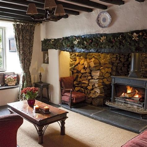 492 Best English Cottage Style Images On Pinterest Cottage Style Fireplace Mantels