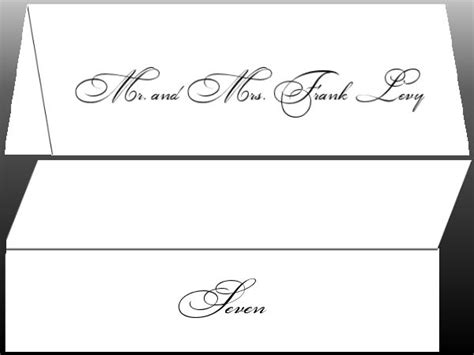 formal place cards images