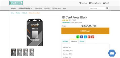 membuat id card online cara membuat id card online di kemasaja com cara desain