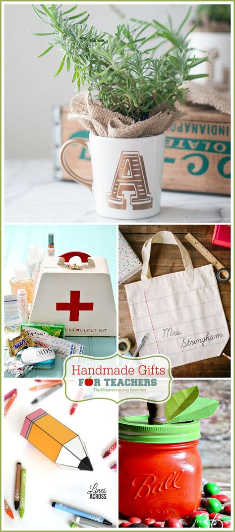 Handmade Gifts For - handmade gifts for teachers the 36th avenue