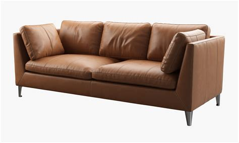 Stockholm Leather Sofa 3d Model Ikea Stockholm Sofa
