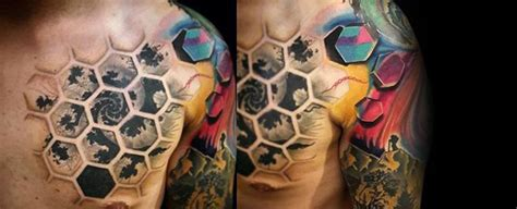 fractal tattoos 80 fractal designs for repeating geometry ink