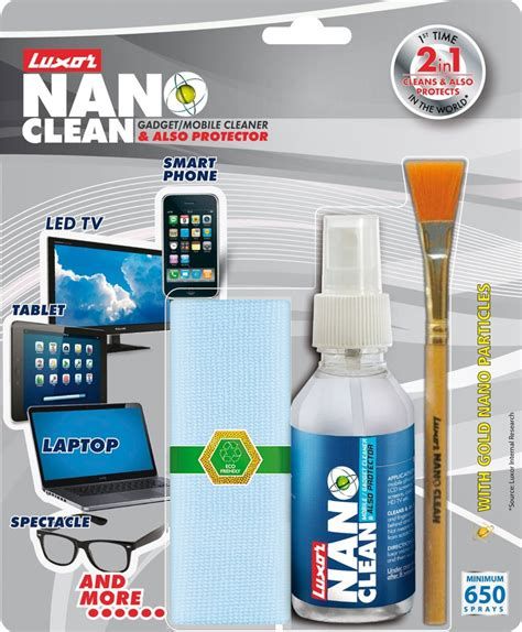 Nano Technology Cosmetic Cleaning Isi 2 Buah luxor nano cleaning kit for computers price in india buy luxor nano cleaning kit for computers