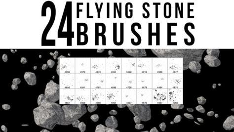25 flying stone brushes file format photoshop and pdf 24 flying stone brushes by stockgorilla on deviantart