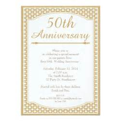 50th wedding anniversary invitation 11 cm x 16 cm invitation card zazzle