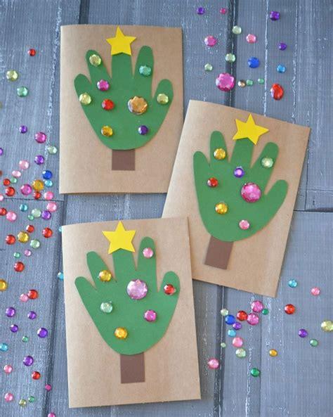 Weihnachtskarten Kinder Basteln by So K 246 Nnen Sie Weihnachtskarten Basteln Mit Kindern