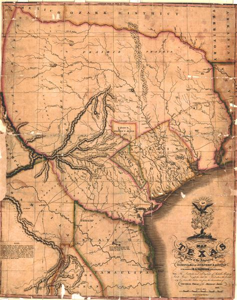 texas colonies map stephen fuller the handbook of texas texas state historical association tsha