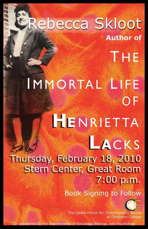 The Immortal Of Henrietta Lacks Essay by The Immortal Of Henrietta Lacks Essay