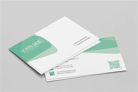 personal business card templates psd free personal visiting card template psd psdboom