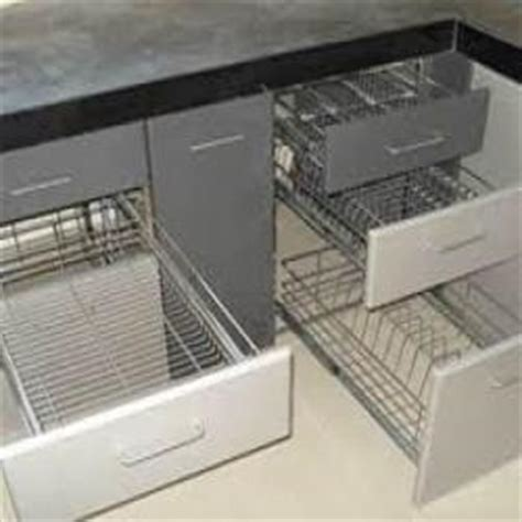 kitchen trolley designs with price stainless steel kitchen drawers in pune stainless steel