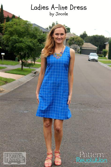 jocole pattern review a line shift dress by jocole pattern revolution