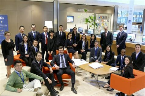 Imd Scholarships Mba by Imd S 2017 Mba Class Receives Half A Million Chf In