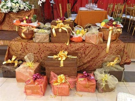 Engagement List for the Yoruba Traditional Wedding   Eru