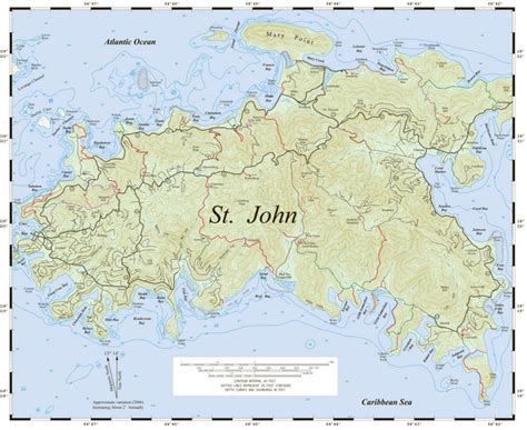 map of st johns islands images and places pictures and info us islands st
