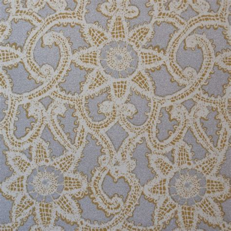 Lace Drapery Fabric z or130 metallic silver lace geometric print drapery upholstery home decor fabric