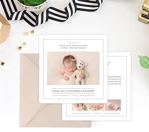 Family Portrait Card Template by Thank You Card Template Family Portraits