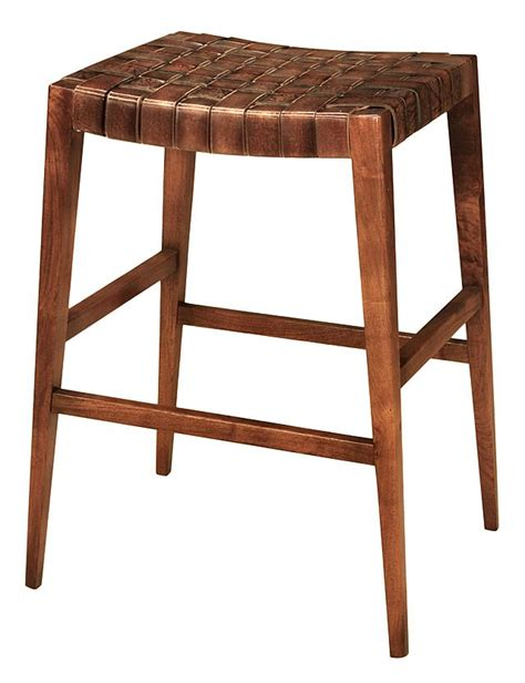 Woven Stools by Max Woven Leather Stool Furniture