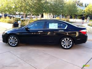 black pearl 2013 honda accord sport sedan exterior