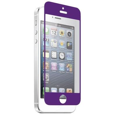 Znitro Nitro Glass Tempered apple iphone 5s znitro nitro glass tempered glass screen protector purple ngip5pr