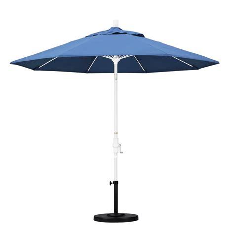california umbrella 9 ft fiberglass collar tilt patio