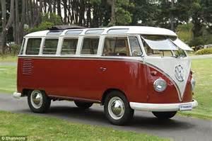 volkswagen minivan 1960 restored 1960s vw kombi sells for staggering 202 000