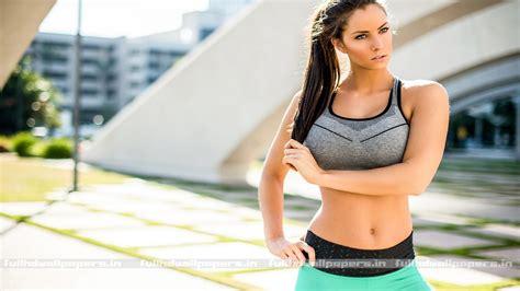 full hd wallpaper of girl fitness girl full hd wallpapers