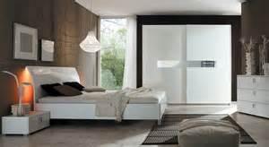 chambre a coucher compl 232 te moderne blanche prix promo