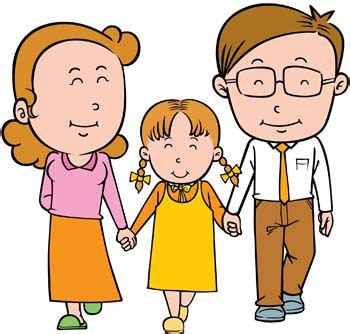 Filipino Home Decor by Cartoon Family With Mom And Dad Daughter Picture Images