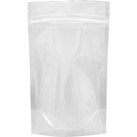 Standing Pouch Transparant With Zipper 250 Gr the bag broker uk 70g stand up pouch with zip clear