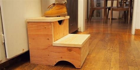 Build Child Step Stool by How To Build A Storage Step Stool For