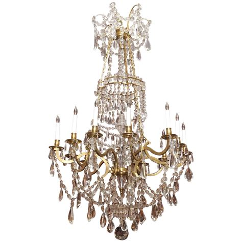 Baccarat Chandelier Prices Antique Louis Xvi Bronze D Ore And Baccarat Chandelier At 1stdibs