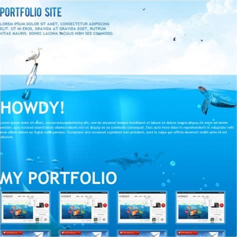 portfolio templates portfolio template free website templates in css html js