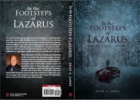 in footsteps books in the footsteps of lazarus by dean a reviews