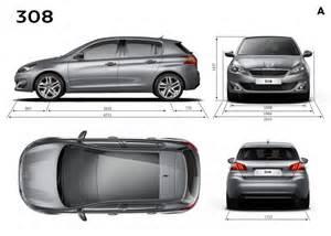 Peugeot Dimensions Dimension Garage Peugeot 207 Dimensions Exterieures
