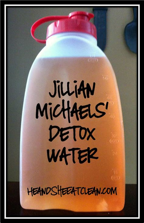 How To Make Jillian Detox Drink by How To Detox Your Diy Ready