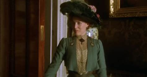 house of mirth costume party gillian anderson in davies the house of mirth