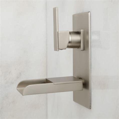 Willis Wall Mount Bathroom Waterfall Faucet   Bathroom
