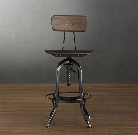 Toledo Bar Stool Restoration Hardware by Vintage Toledo Bar Chair Distressed Black Bar Counter