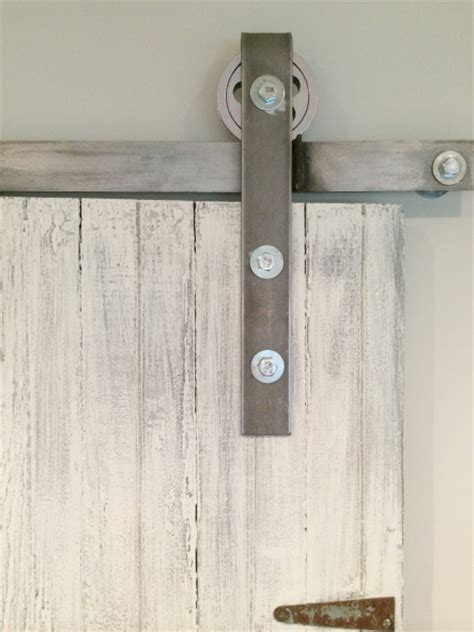 Diy Sliding Barn Door Hardware Remodelaholic 35 Diy Barn Doors Rolling Door Hardware Ideas