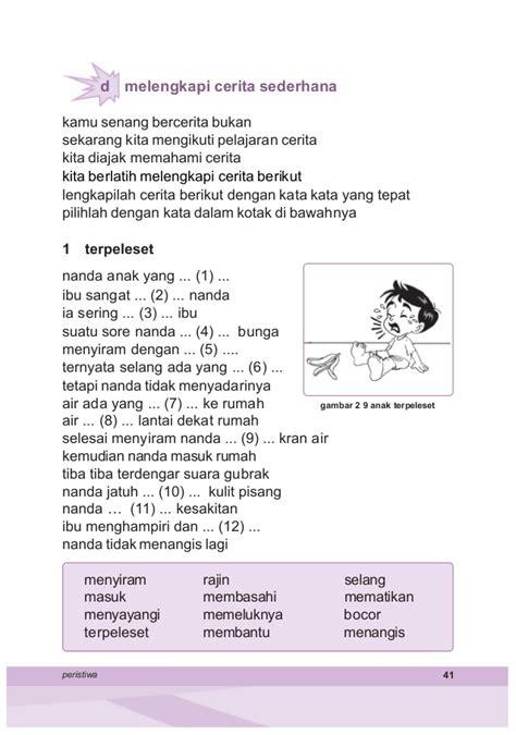 Jual Buku Bacaan Anak Sd Kelas 2 by Bahasa Indonesia Kelas 2 Samidi