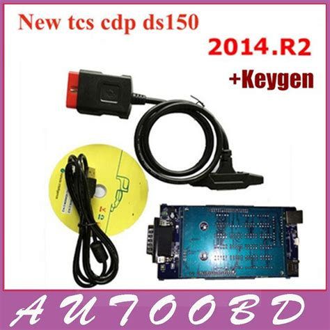 2014 02 Tcs Cdp Pro Obd2 Auto Diagnostic Tool For Cars Trucks best new 2015 r2 vci ds150e cdp plus pro no bluetooth for