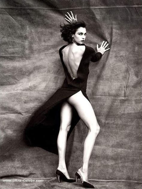 Colleen Egan Famke Janssen Paparazzi See Thru Dress Photos