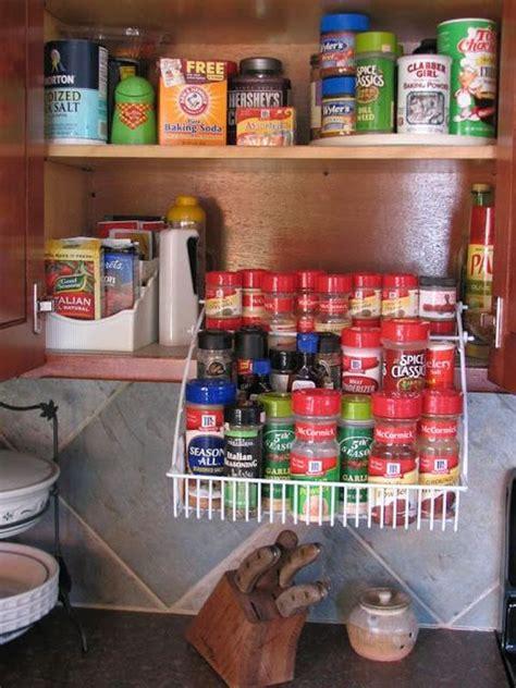 Kitchen Spice Organization Ideas by 65 Ingenious Kitchen Organization Tips And Storage Ideas