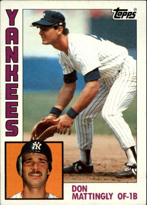 1984 Don Mattingly Topps by Beckett