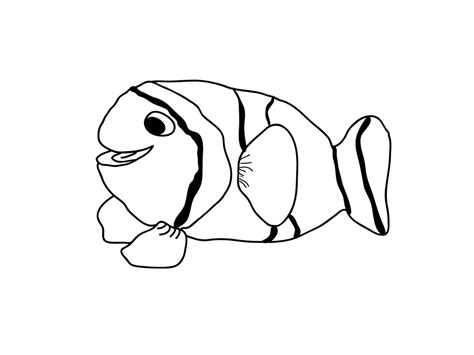 coloring pages cute fish free printable fish coloring pages for kids