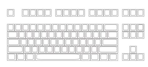 keyboard layout for new zealand colorful keyboard sticker template composition resume