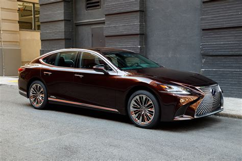 lexus new 2018 2018 lexus ls 500 f sport adds visual aggression handling